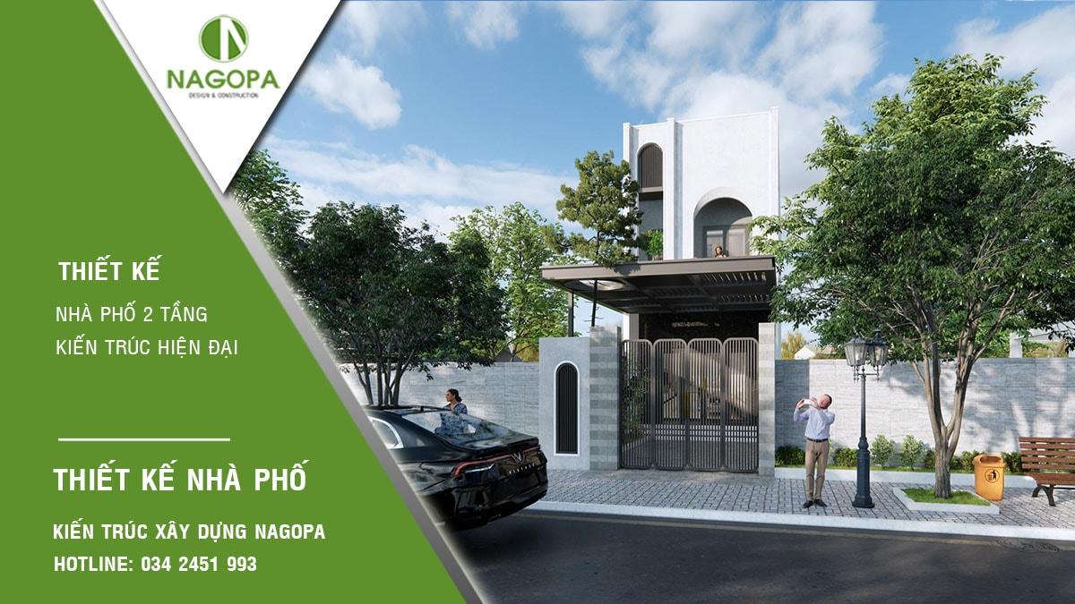 Concept Nhà phố 5x17m 2 tầng hiện đại 09