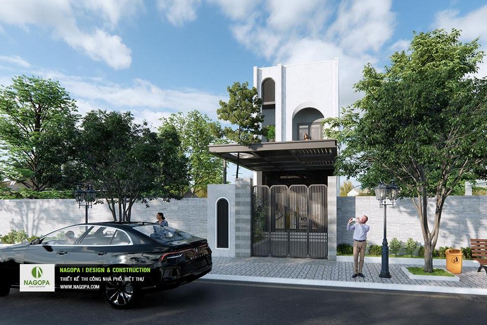 Concept Nhà phố 5x17m 2 tầng hiện đại