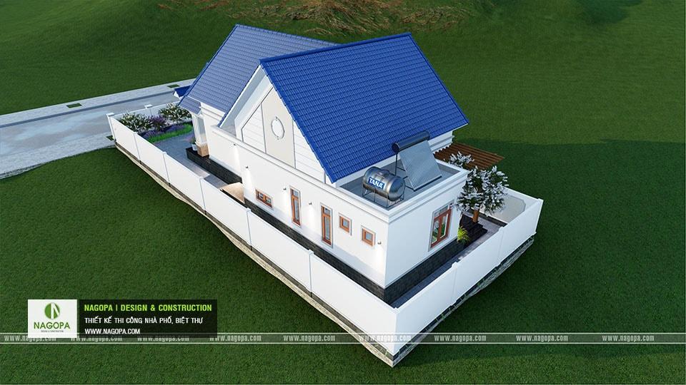 Thiết kế biệt thự 1 tầng mái thái 168m2 tại Dầu Tiếng 17