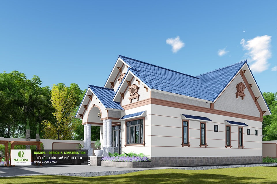 Biệt thự 1 tầng mái thái Tháng 10/2020 tại Phú Giáo 03