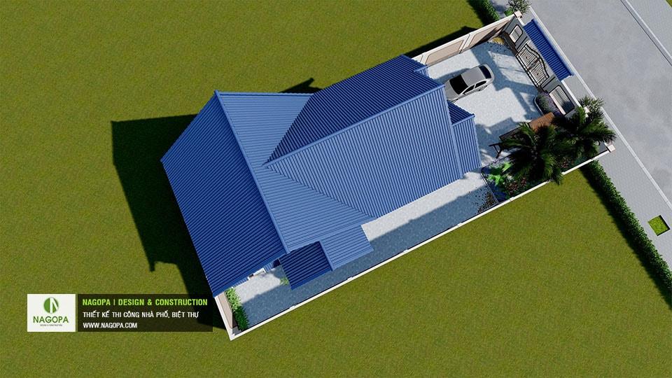 Biệt thự 1 tầng mái thái Tháng 10/2020 tại Phú Giáo 04