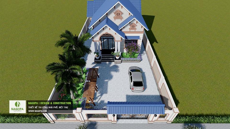 Biệt thự 1 tầng mái thái Tháng 10/2020 tại Phú Giáo 08