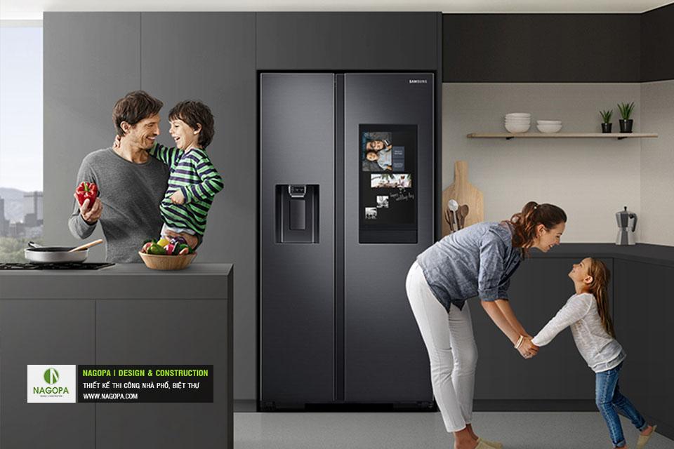 Top 5 Tủ Lạnh Side by Side từ SAMSUNG làm đẹp KHÔNG GIAN BẾP