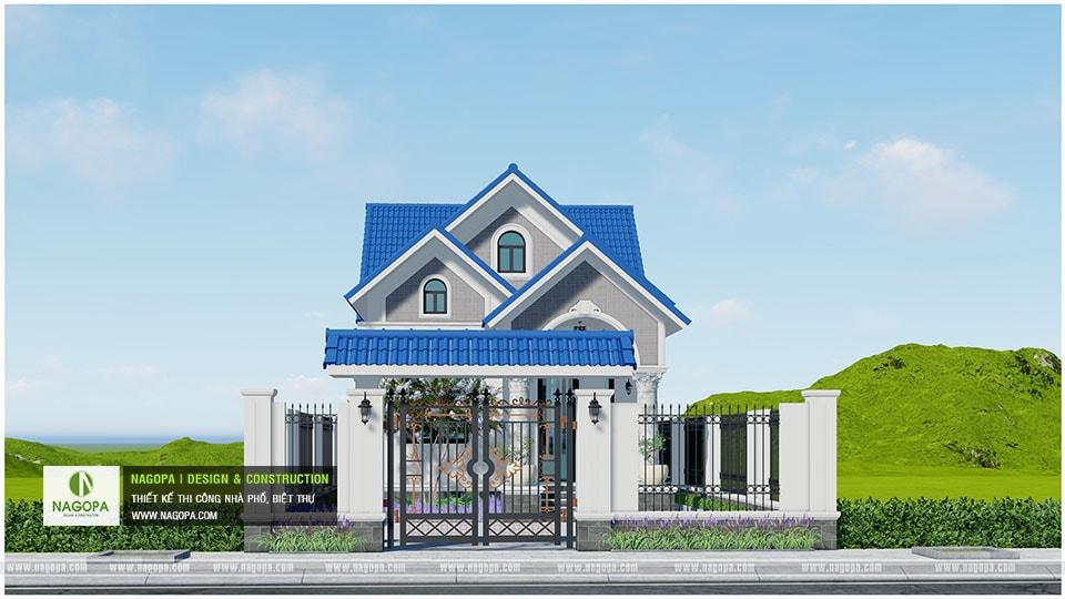 Concept Biệt thự 1 tầng mái thái 3 phòng ngủ tại Bàu Bàng 02