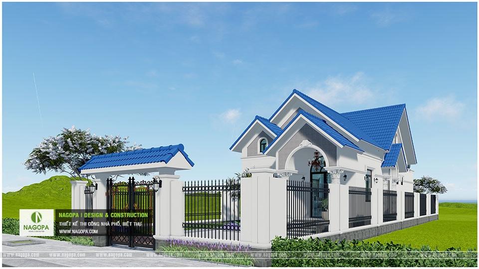 Concept Biệt thự 1 tầng mái thái 3 phòng ngủ tại Bàu Bàng 03