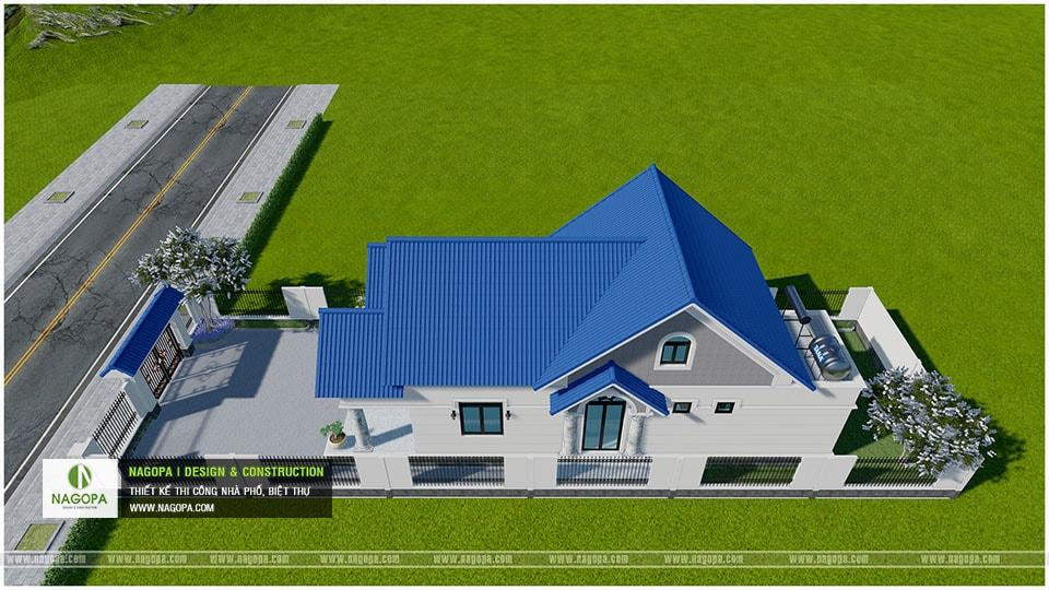 Concept Biệt thự 1 tầng mái thái 3 phòng ngủ tại Bàu Bàng 05