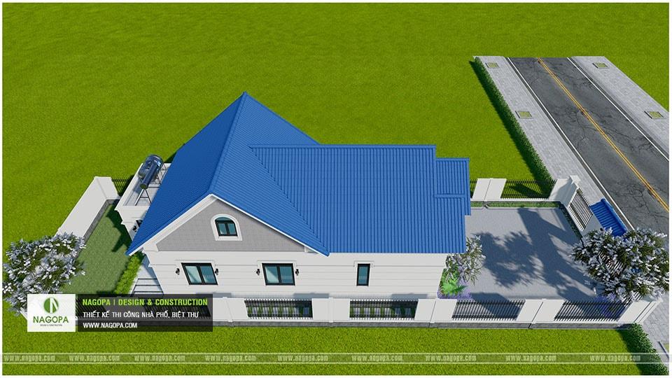 Concept Biệt thự 1 tầng mái thái 3 phòng ngủ tại Bàu Bàng 06
