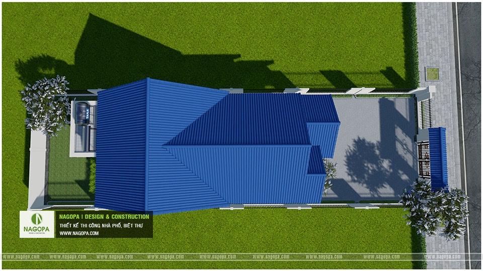 Concept Biệt thự 1 tầng mái thái 3 phòng ngủ tại Bàu Bàng 07