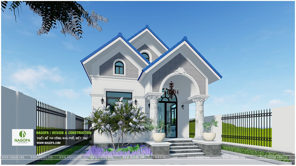 Concept Biệt thự 1 tầng mái thái 3 phòng ngủ tại Bàu Bàng 10