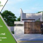 Ngôi nhà của Min | Nhà Cấp 4 Hiện Đại 5x25m