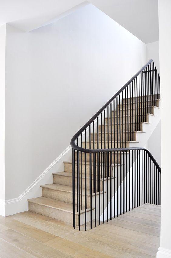 mẫu lan can cầu thang sắt