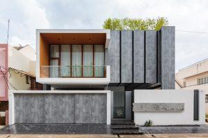 mẫu thiết kế nhà phố hiện đại 2 tầng xu hướng mới