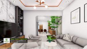 mẫu thiết kếnội thất nhà phố 2 tầng hiện đại 02