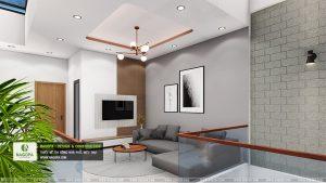 mẫu thiết kếnội thất nhà phố 2 tầng hiện đại 06