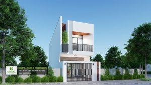 thiết kế nhà phố gia đình cô thu 01