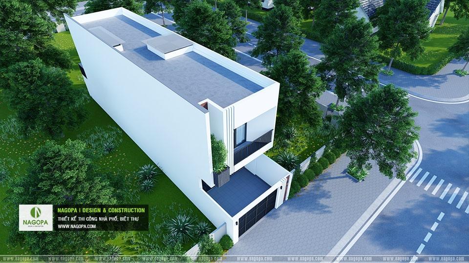 thiết kế nhà phố gia đình cô thu 03