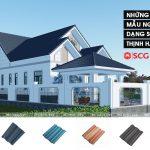 4 Mẫu ngói màu dạng sóng SCG 'thịnh hành' xây nhà ai cũng mê
