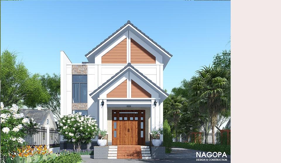 Biệt Thự Mái Thái 120m2 gia đình a Hòa tại Chơn Thành 05