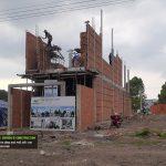 cập nhật tiến độ thi công nhà cô thu tại đồng xoài t5/2021