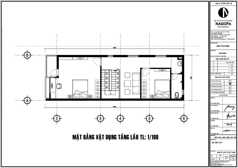 mặt bằng nhà phố 5m diện tích 5x15 01
