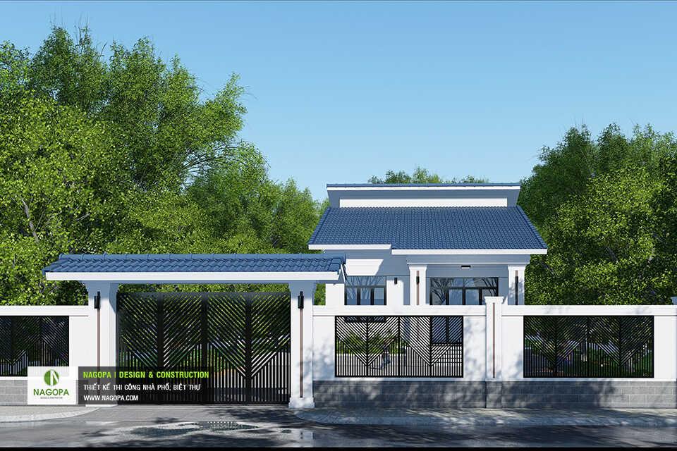 Mẫu Nhà Cấp 4 Mái Lệch Trên Đất Vườn tại Tiến Hưng, Đồng Xoài03