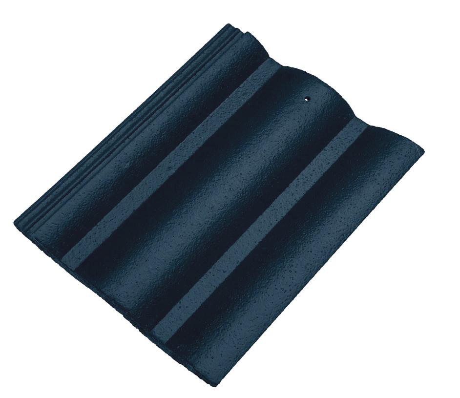 ngói màu dạng sóng xanh hải quân