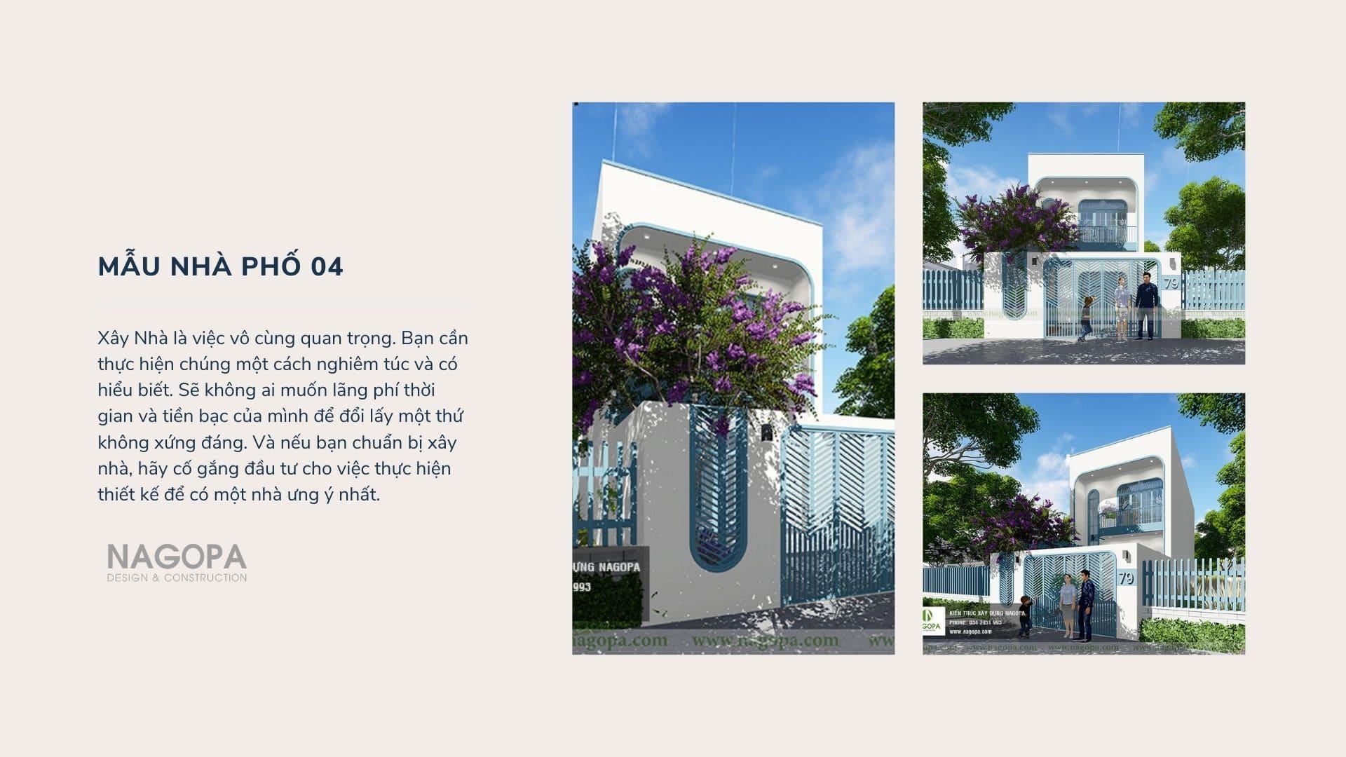 ý tưởng thiết kế nhà phố hiện đại mặt tiền đẹp 03