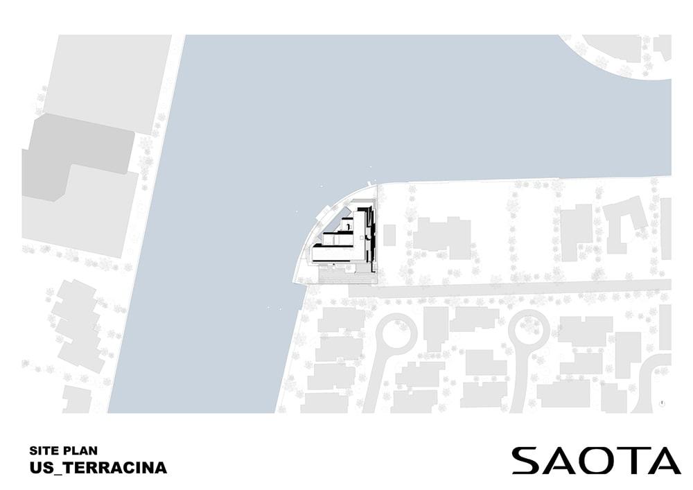 Mặt bằng Ngôi biệt thự mặt tiền ven sông độc quyền ở thành phố Golden Beach