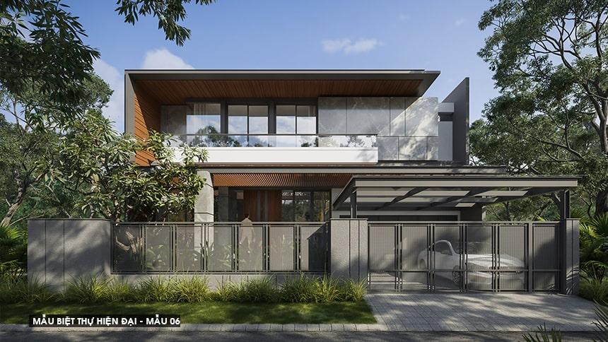 Mẫu biệt thự hiện đại thiết kế sang trọng đẳng cấp 11