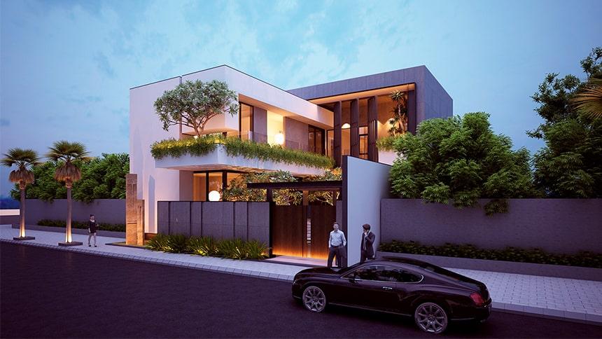 Mẫu biệt thự hiện đại thiết kế sang trọng đẳng cấp 2