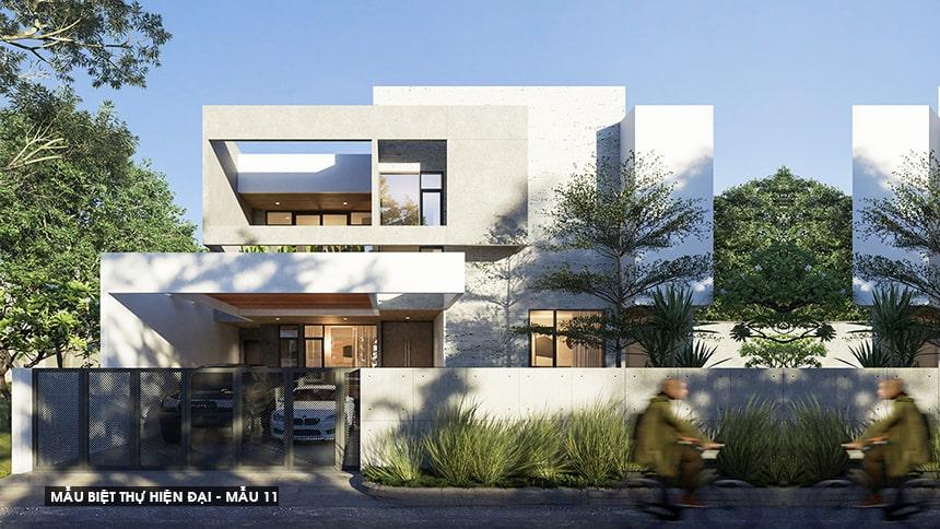 Mẫu biệt thự hiện đại thiết kế sang trọng đẳng cấp 21