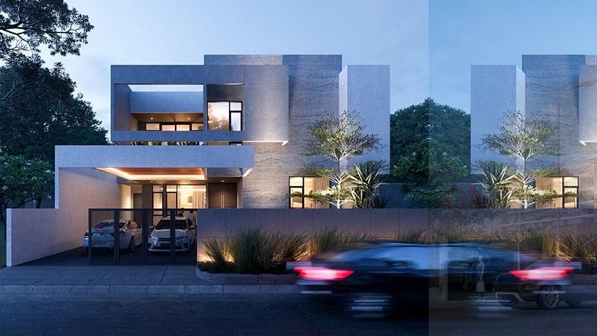 Mẫu biệt thự hiện đại thiết kế sang trọng đẳng cấp 22