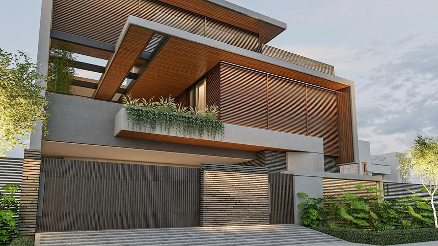Mẫu biệt thự hiện đại thiết kế sang trọng đẳng cấp 29