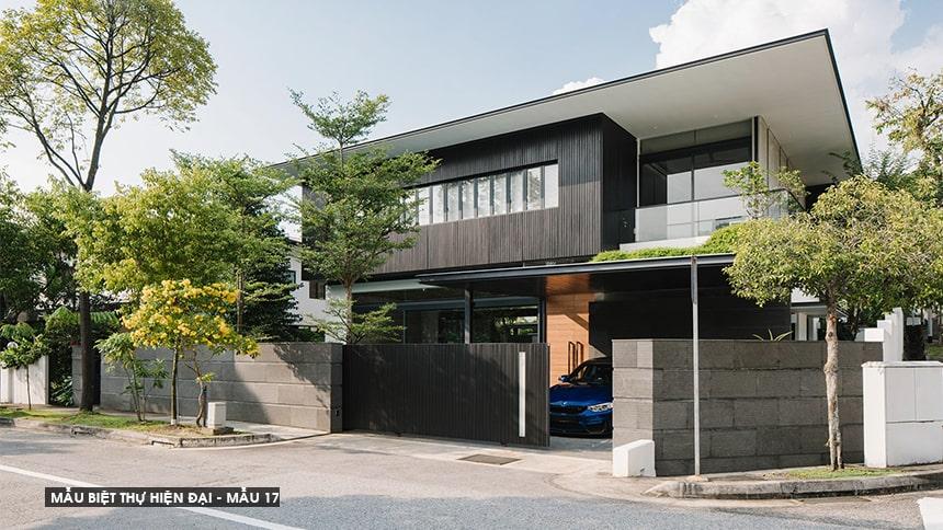 Mẫu biệt thự hiện đại thiết kế sang trọng đẳng cấp 32