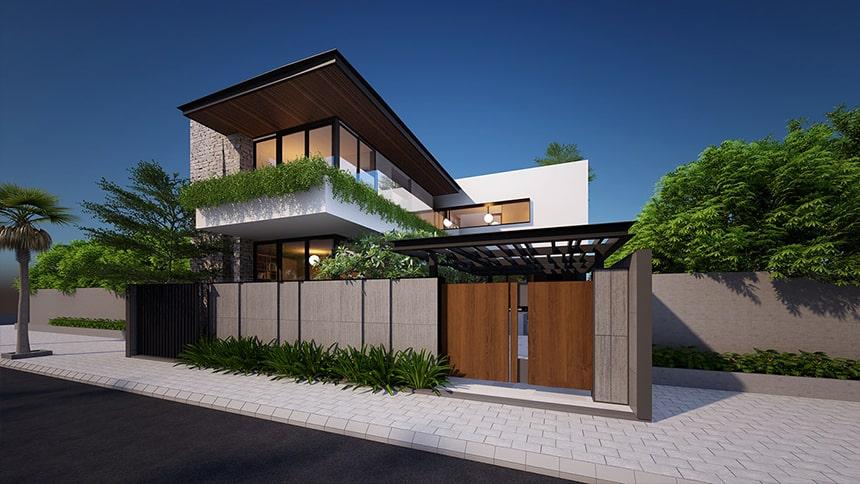 Mẫu biệt thự hiện đại thiết kế sang trọng đẳng cấp 8