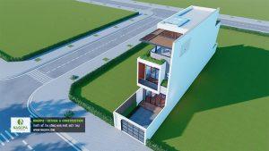 Nhà Phố 3 Tầng Diện Tích 4.5x20m Có 4 Phòng Ngủ 4
