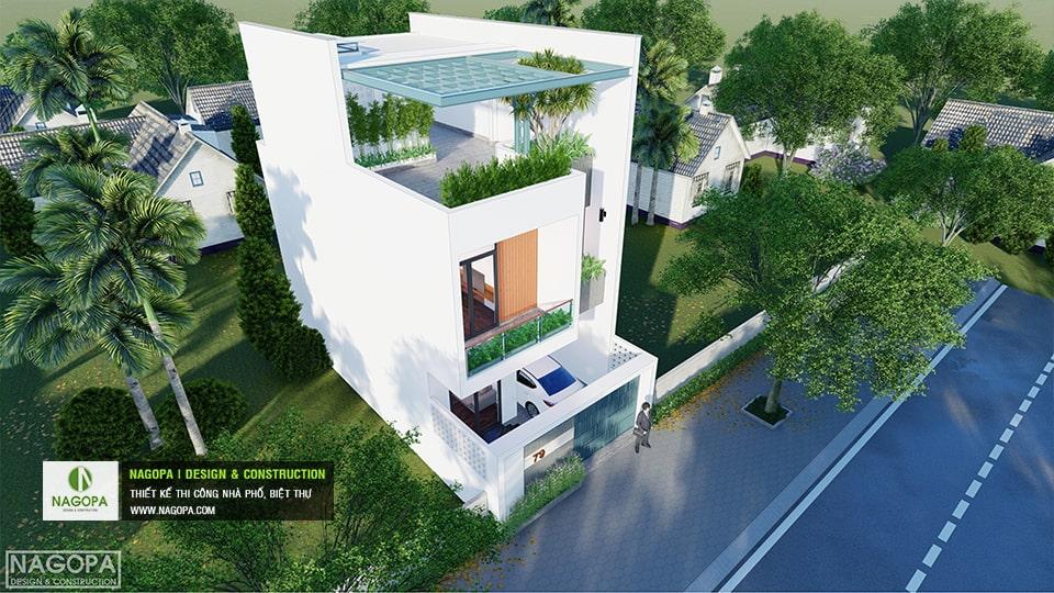 Nhà Phố 6m 1 trệt 1 lầu 1 tum có sân thượng | Nhà gia đình CTTA 6