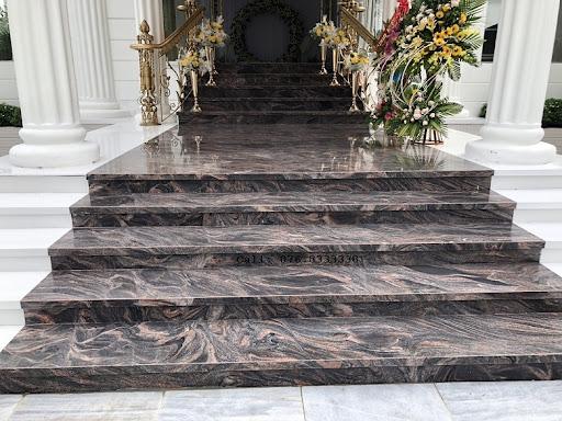 đá marble ốp bậc tam cấp