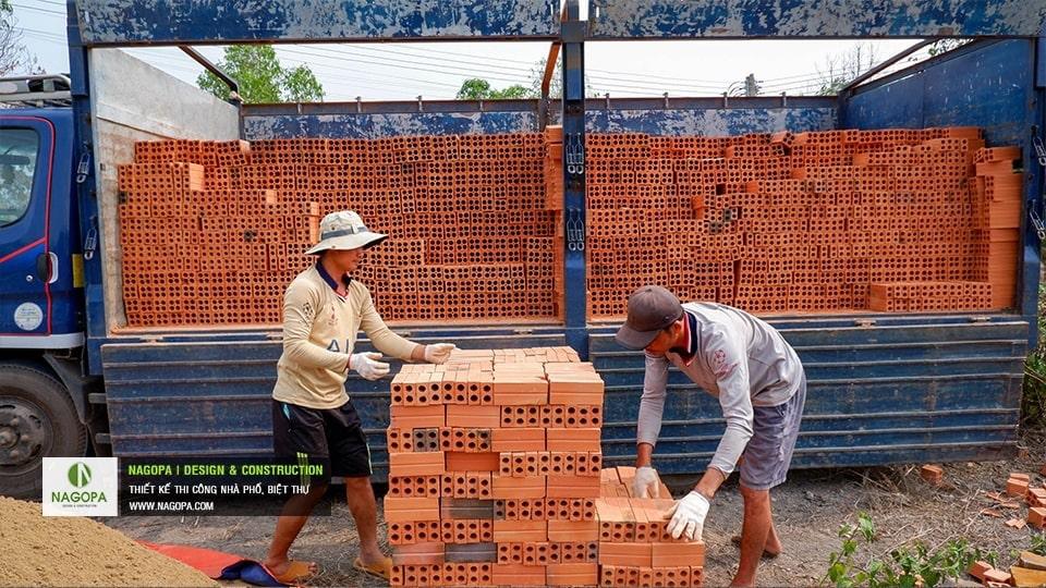 gạch tuynel dùng xây nhà