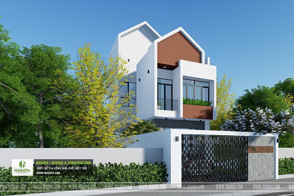 Nhà phố 3 tầng hiện đại | Nhà gia đình anh T | PHTDM 3