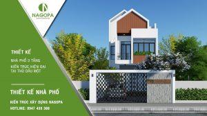 Nhà phố 3 tầng hiện đại | Nhà gia đình anh T | PHTDM 8