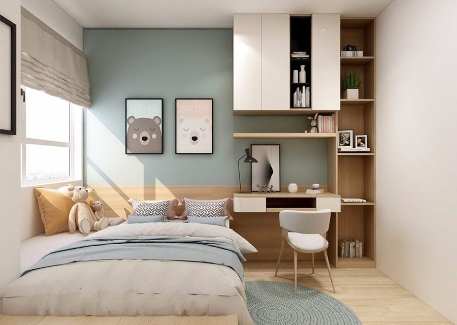 nội thất phòng ngủ nhà lô góc 1