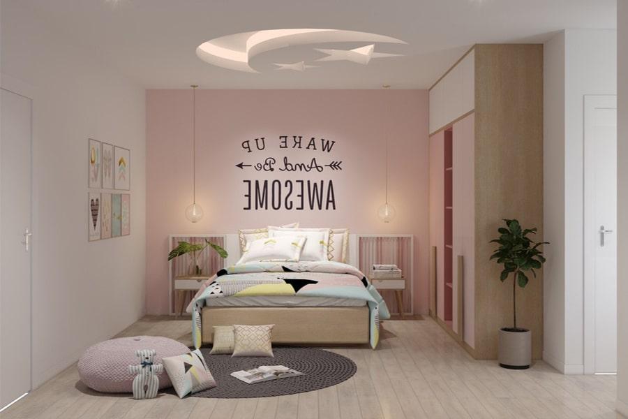 phòng ngủ dành cho bé gái 1 nagopa design