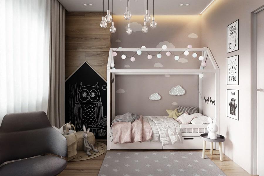 phòng ngủ dành cho bé gái 11 nagopa design