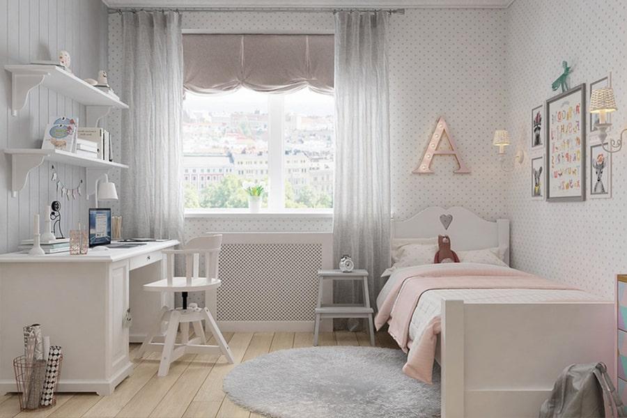 phòng ngủ dành cho bé gái 12 nagopa design