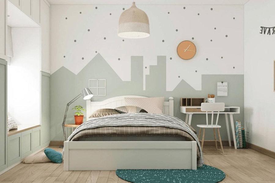 phòng ngủ dành cho bé gái 13 nagopa design