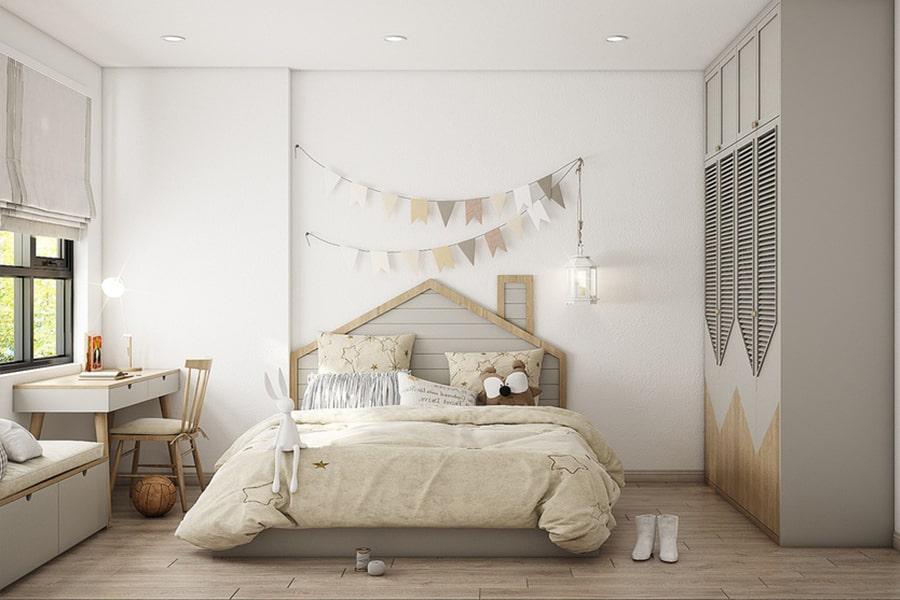 phòng ngủ dành cho bé gái 14 nagopa design