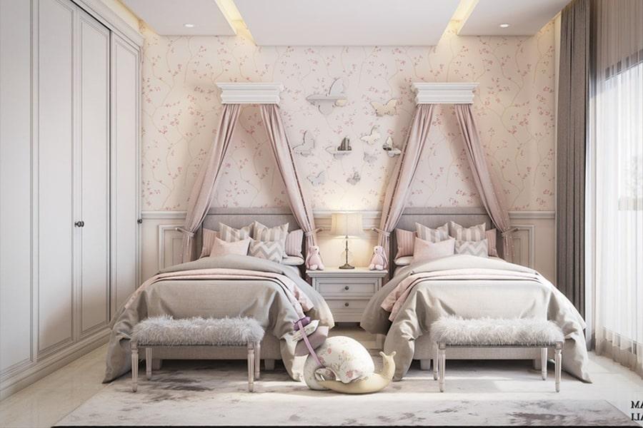 phòng ngủ dành cho bé gái 19 nagopa design