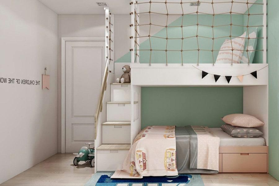 phòng ngủ dành cho bé gái 20 nagopa design