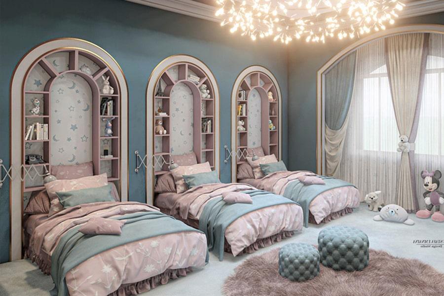 phòng ngủ dành cho bé gái 22 nagopa design
